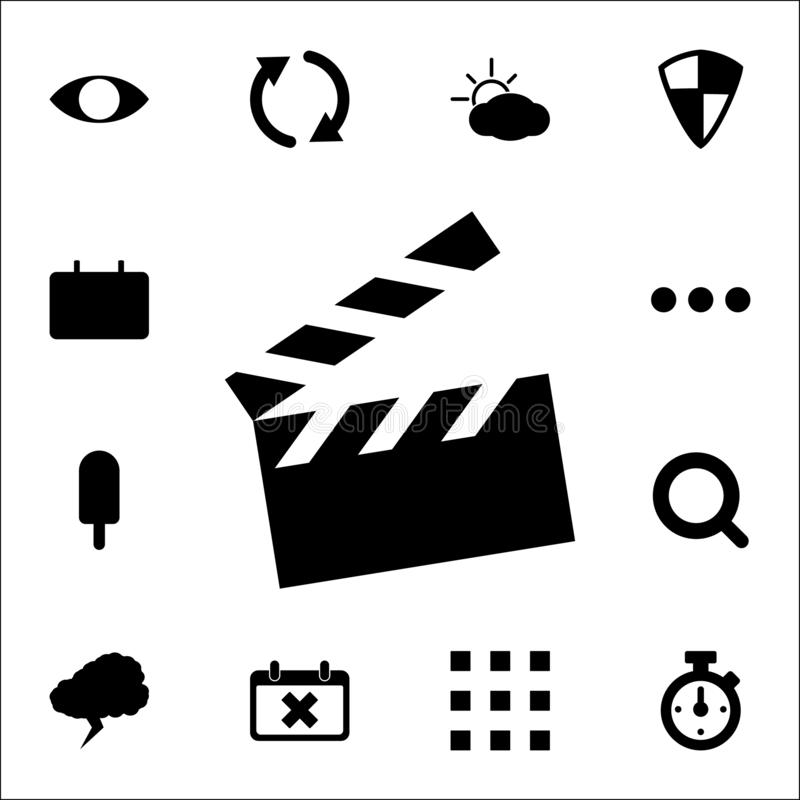 movie cracker icon. web icons universal set for web and mobile vector illustration