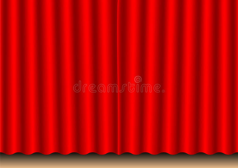 Download Movie curtain stock illustration. Image of hollywood, clapper - 1412973