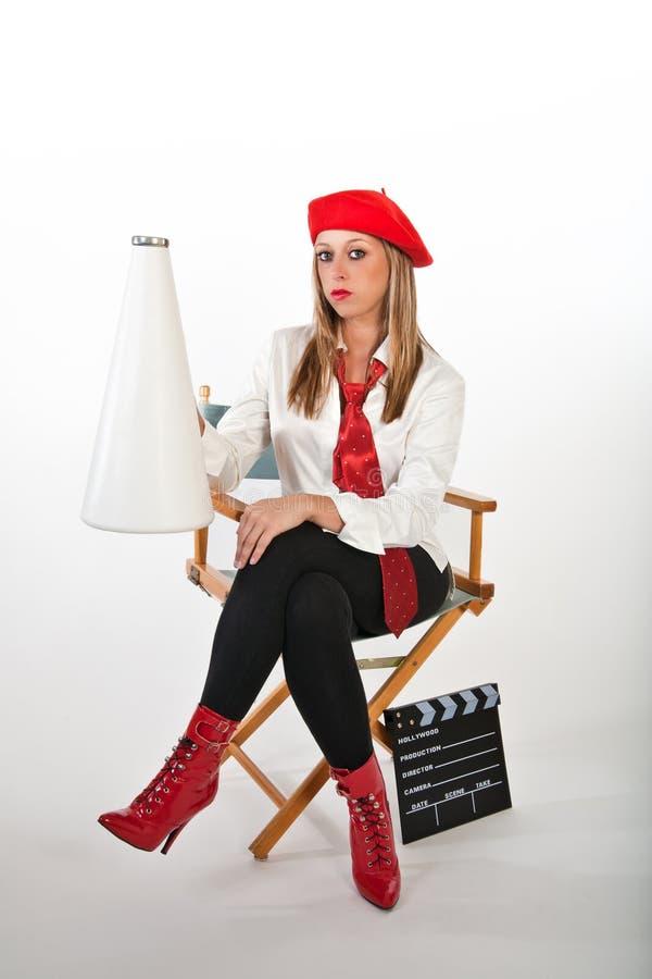 Movie Director stock photos