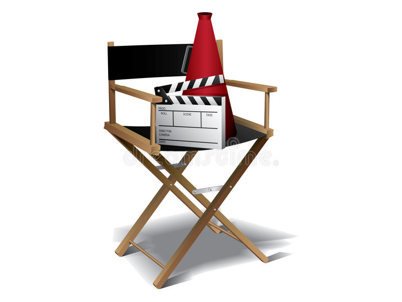Download Movie director chair stock image. Image of camera, film - 20051011