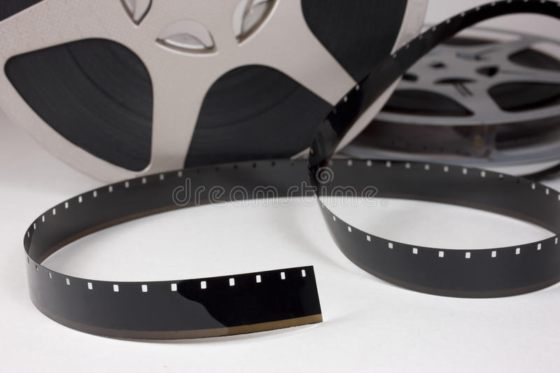 Download Movie film stock image. Image of movie, retro, white - 14724039