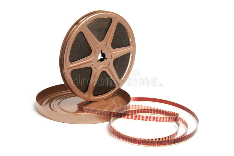 Download Movie Film Reel stock image. Image of spool, movie, studio - 10777233