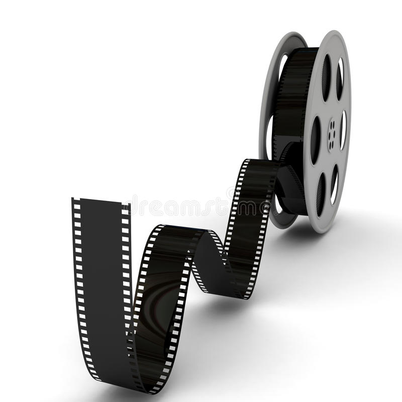 Download Movie Film Reel stock illustration. Image of icon, negative - 15042085