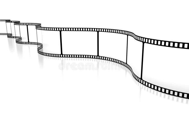 Movie/kamery taśmy pojęcie royalty ilustracja