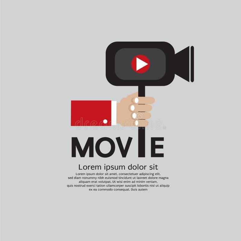 Movie Maker. ilustracja wektor