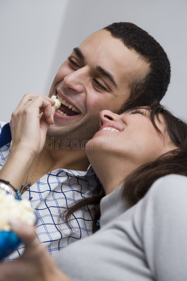 Download Movie night stock image. Image of comedy, exciting, adults - 1614571