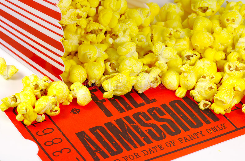 Download Movie Night stock photo. Image of snack, show, film, admit - 70452