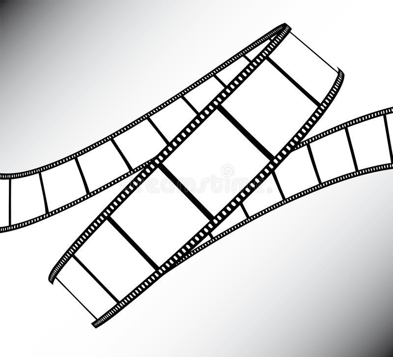 Download Movie/photo film stock vector. Illustration of edges - 10687127