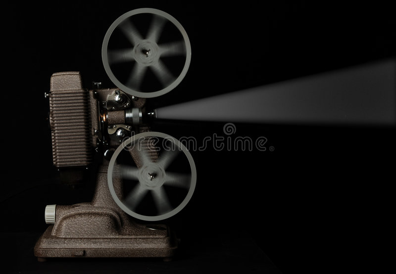 Movie projector stock photos