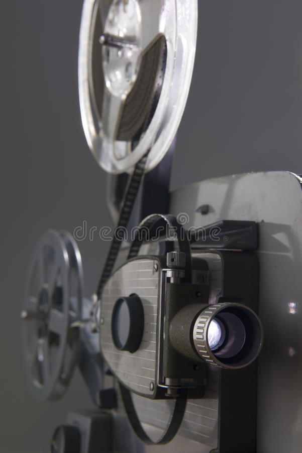 Download Movie projector stock image. Image of reels, entertainment - 26058167