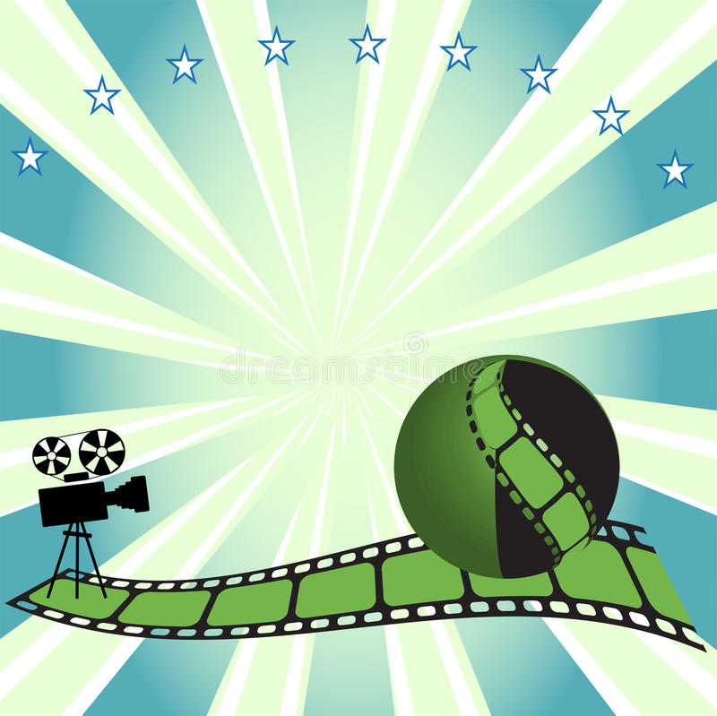 Free Movie Projector Royalty Free Stock Images - 9943199