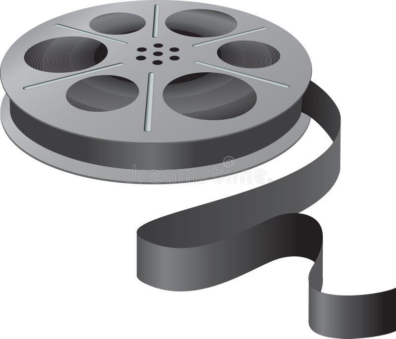 Download A movie reel stock vector. Illustration of industry, camera - 3561636