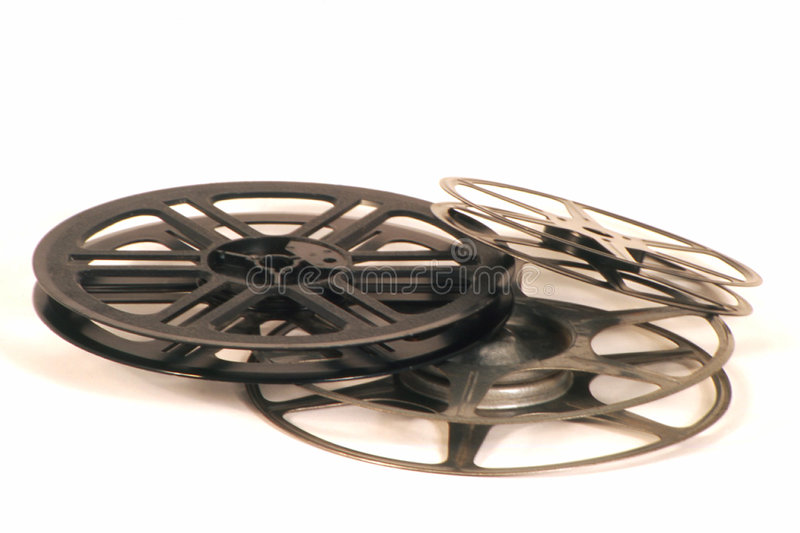 Movie Reels Stock Images