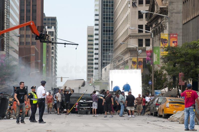 Movie shoot royalty free stock photos