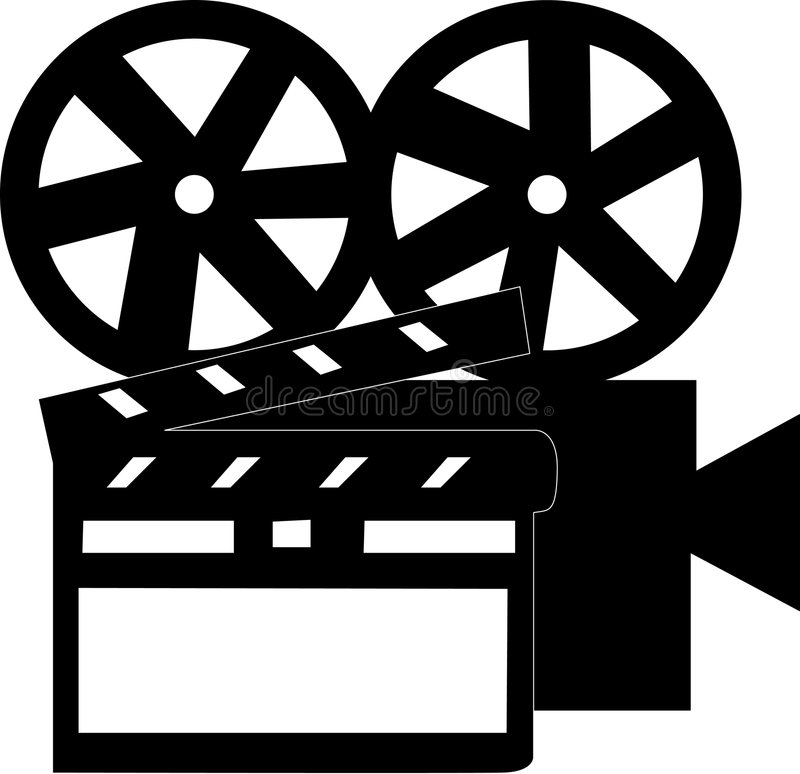 Download Movie stuff stock illustration. Image of clip, producer - 1912600