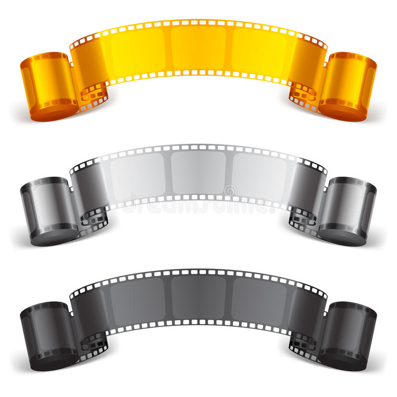 Free Movie Tape. Royalty Free Stock Photography - 43168807