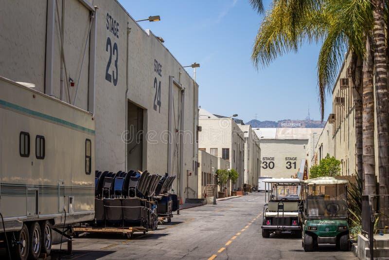 Movie Television Production royalty free stock photo