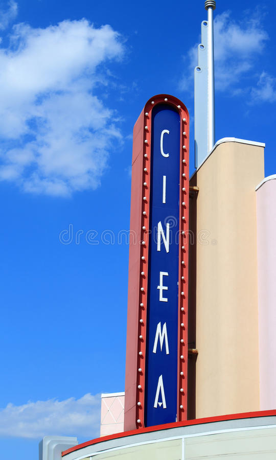 Movie Theater Royalty Free Stock Photo