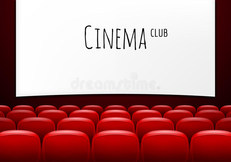 Movie theater with row of red seats premiere event template super download movie theater with row of red seats premiere event template super show design toneelgroepblik Choice Image