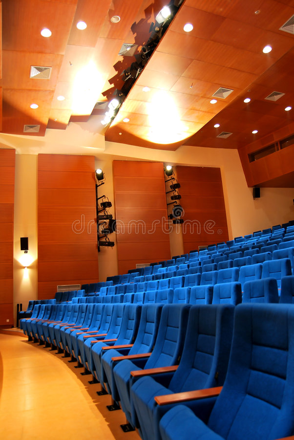 Free Movie Theater Seats Stock Photography - 8968562