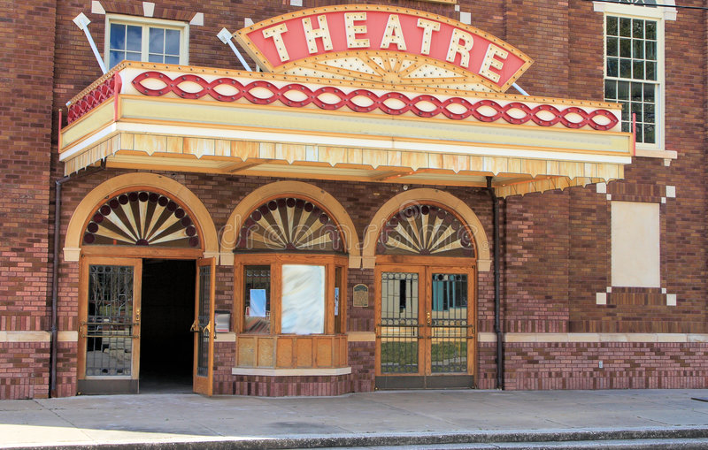 Movie Theatre royalty free stock photo