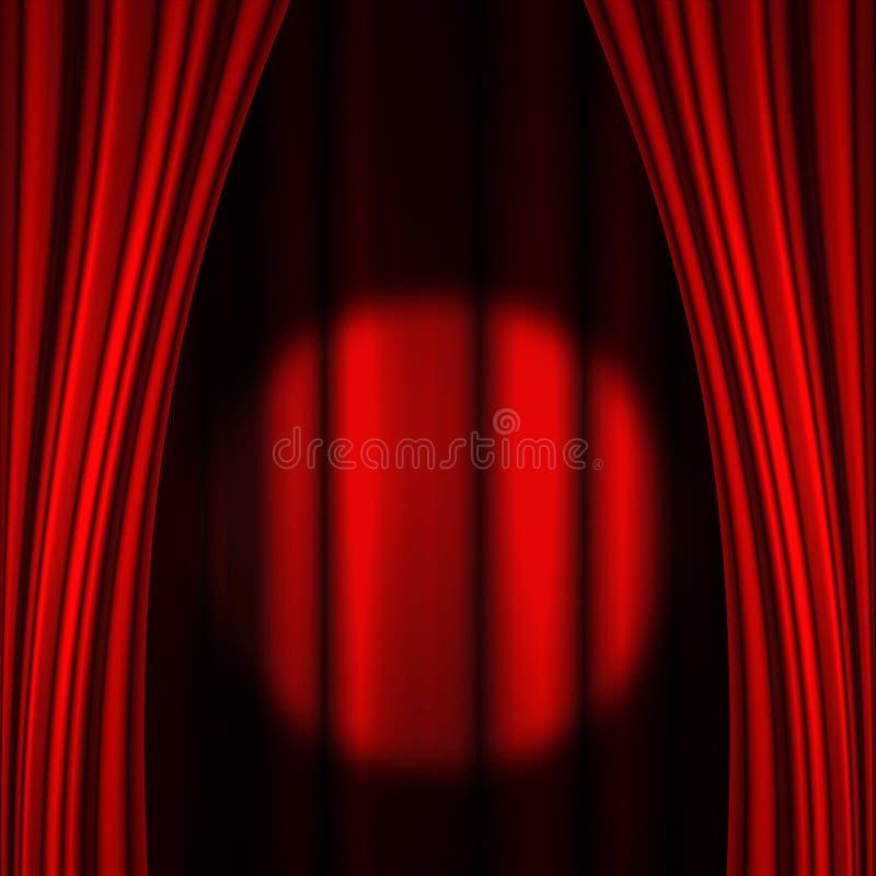Movie or theatre curtain