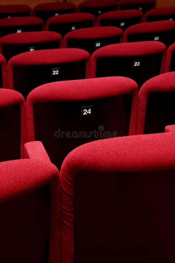 Movie Theatre Empty stock images