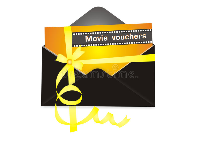 Movie Vouchers Royalty Free Stock Photos