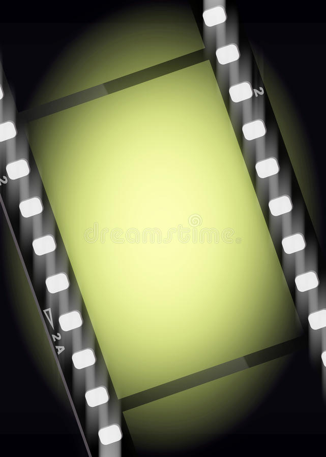 Movies film light background stock images