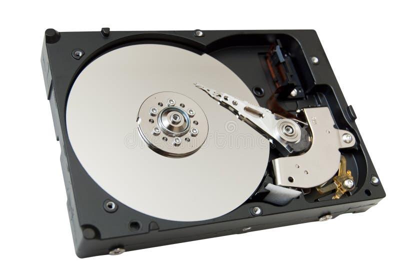 Movimentação aberta do disco rígido imagens de stock
