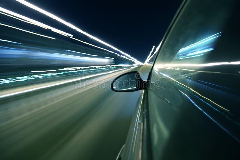 Movimentação abstrata da velocidade fotografia de stock royalty free