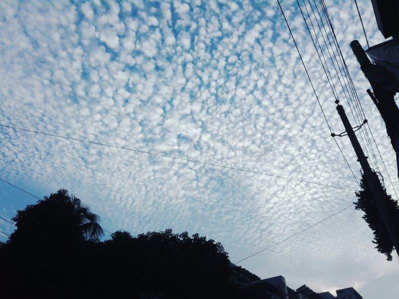 Movimentação da nuvem fotos de stock