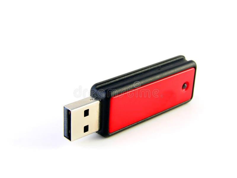 Movimentação da pena da memória do USB imagem de stock royalty free