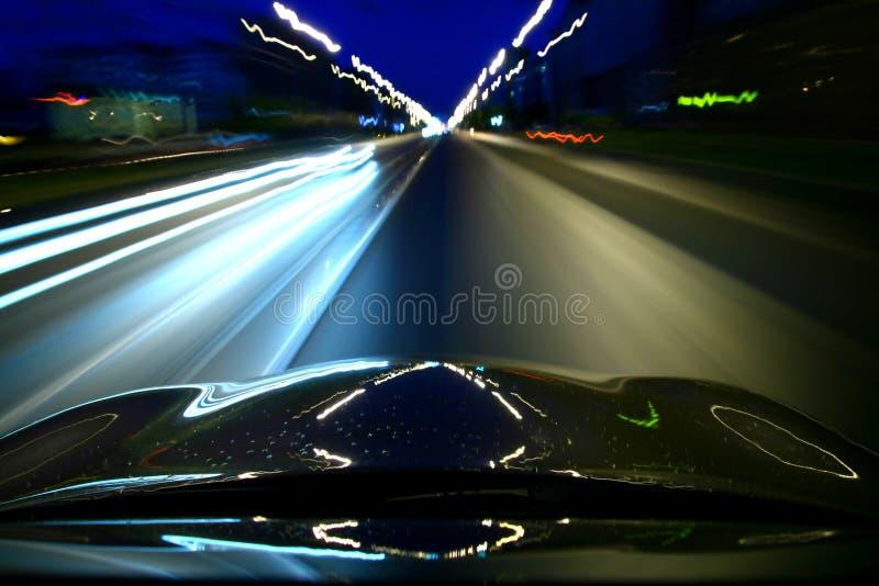 Movimentação da velocidade fotos de stock