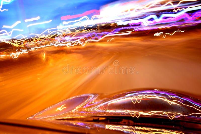 Movimentação da velocidade fotografia de stock
