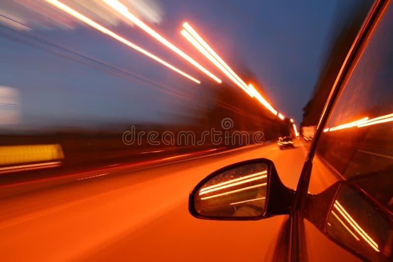 Movimentação da velocidade imagens de stock royalty free