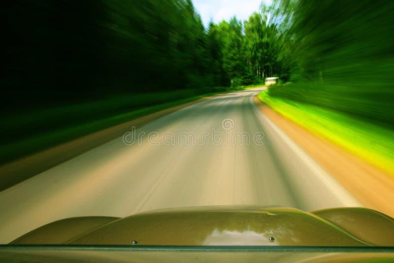 Movimentação da velocidade foto de stock