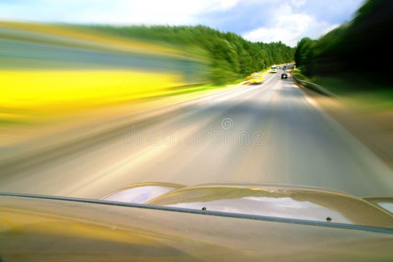 Movimentação da velocidade fotografia de stock royalty free