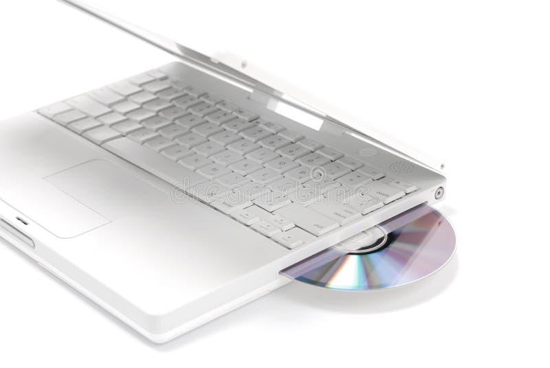 Movimentação de disco do computador imagens de stock
