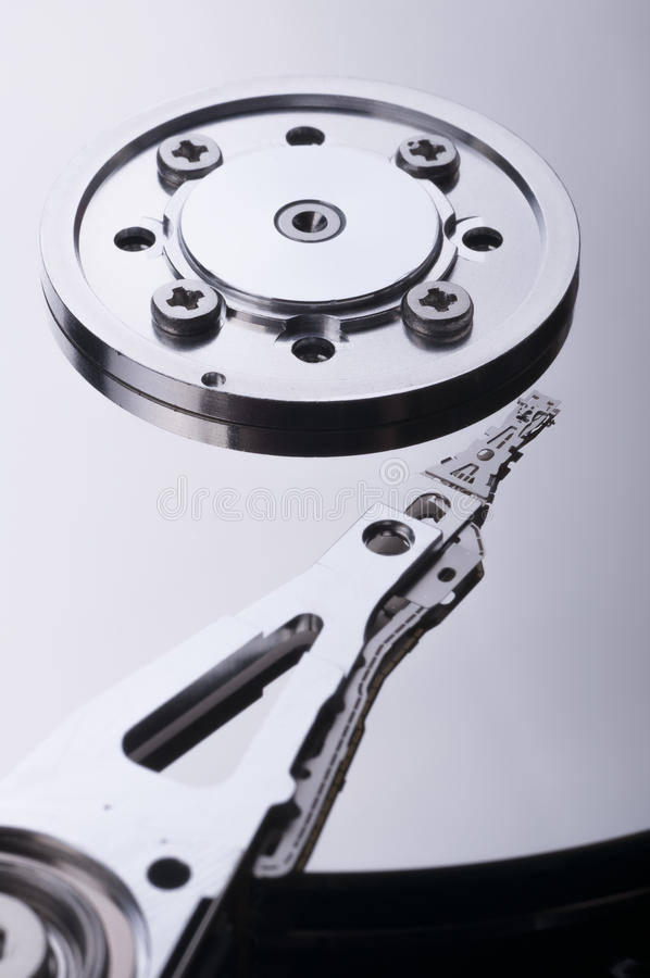 Movimentação de disco rígido foto de stock
