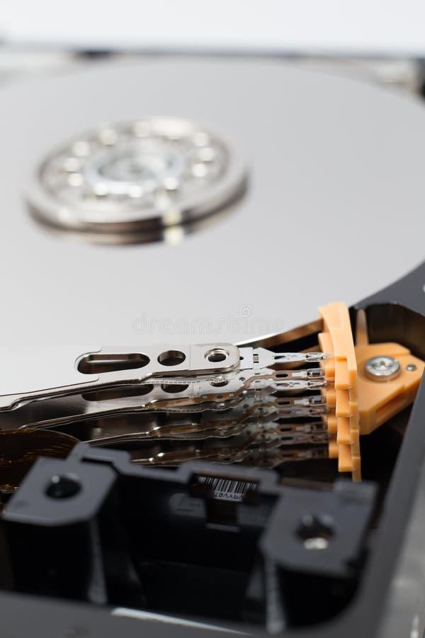 Movimentação de disco rígido interna (HDD) - componentes de material informático fotografia de stock