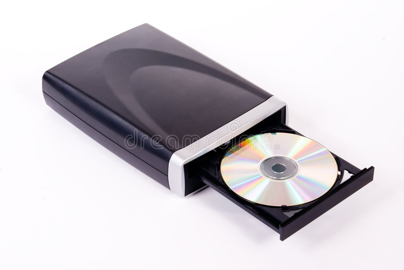 Movimentação de DVD imagens de stock royalty free