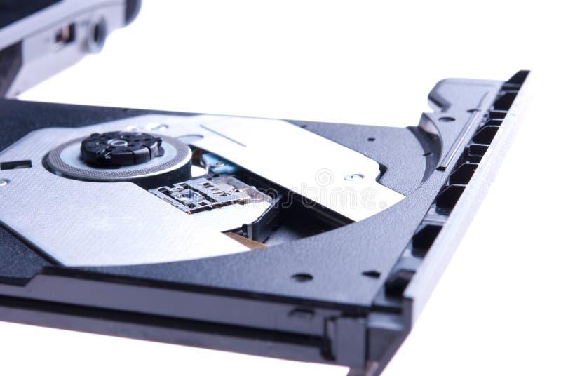 Movimentação de ROM CD fotografia de stock royalty free
