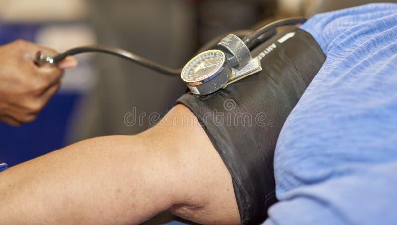 Movimentação de sangue fotografia de stock