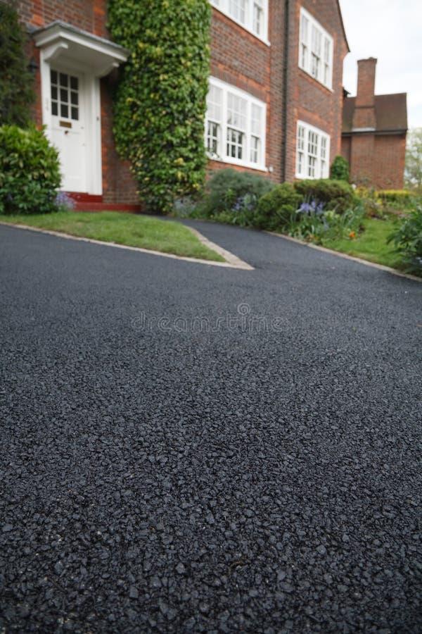 Movimentação do asfalto fotos de stock
