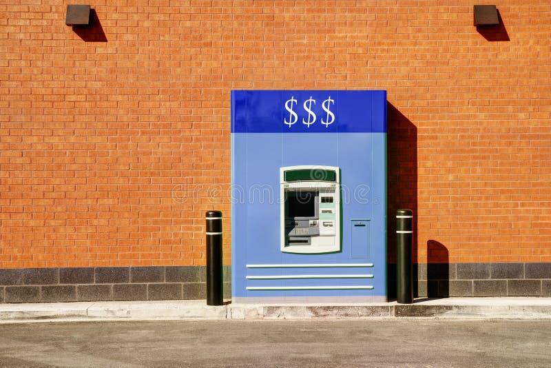 Movimentação do banco completamente foto de stock