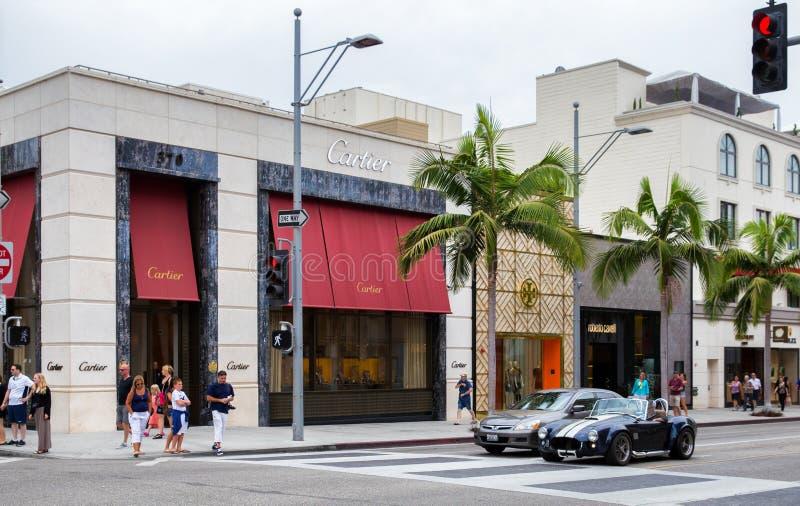 Movimentação do rodeio, Los Angeles imagens de stock royalty free