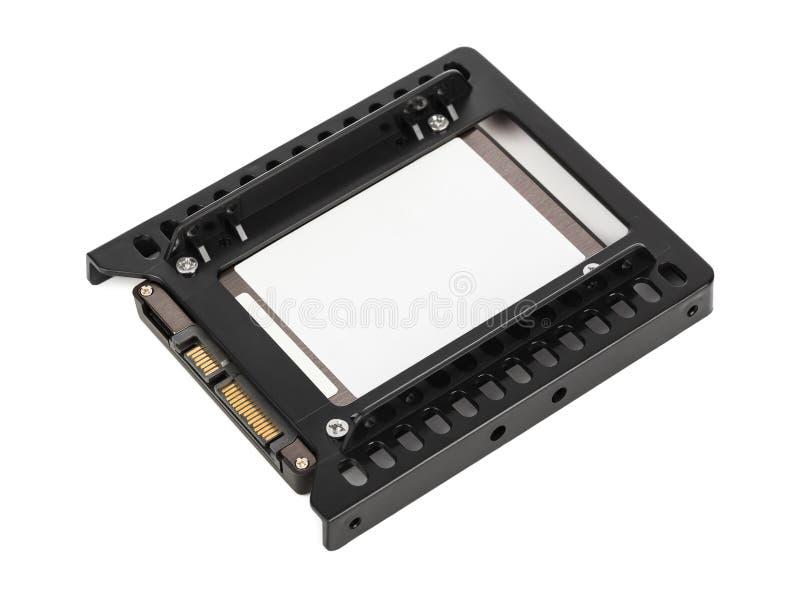 Movimentação do SSD do computador imagem de stock royalty free