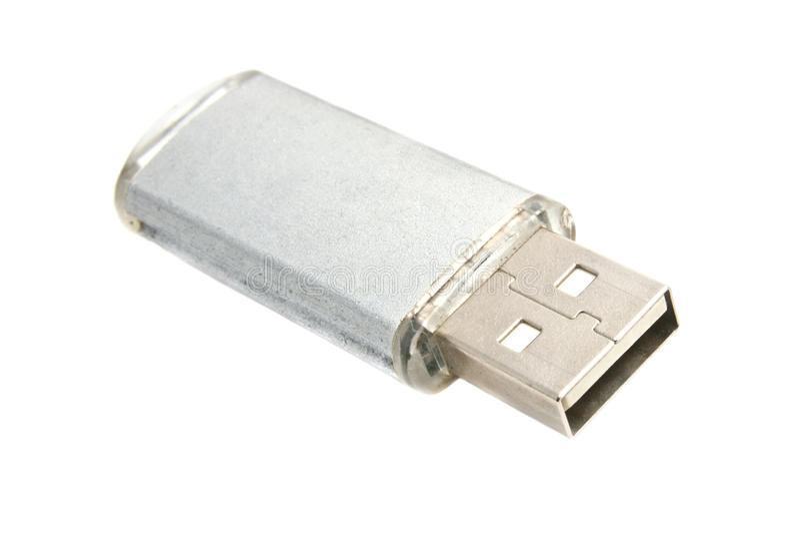 Movimentação do USB fotos de stock royalty free