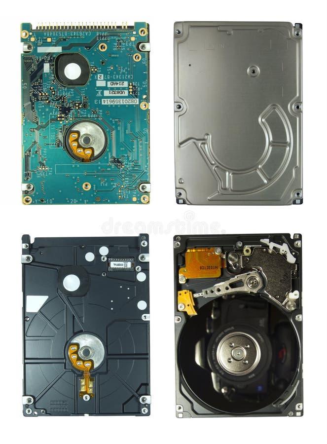 Movimentação HDD do disco rígido fotos de stock royalty free